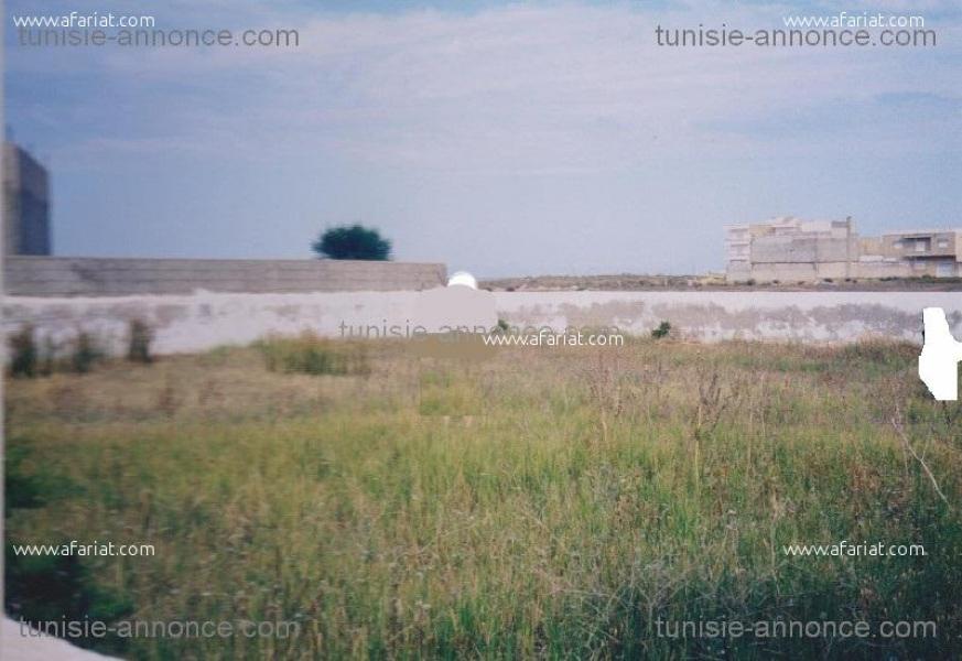 Annonce sur Affariat Tunisie pour: terrain á Raoued plage
