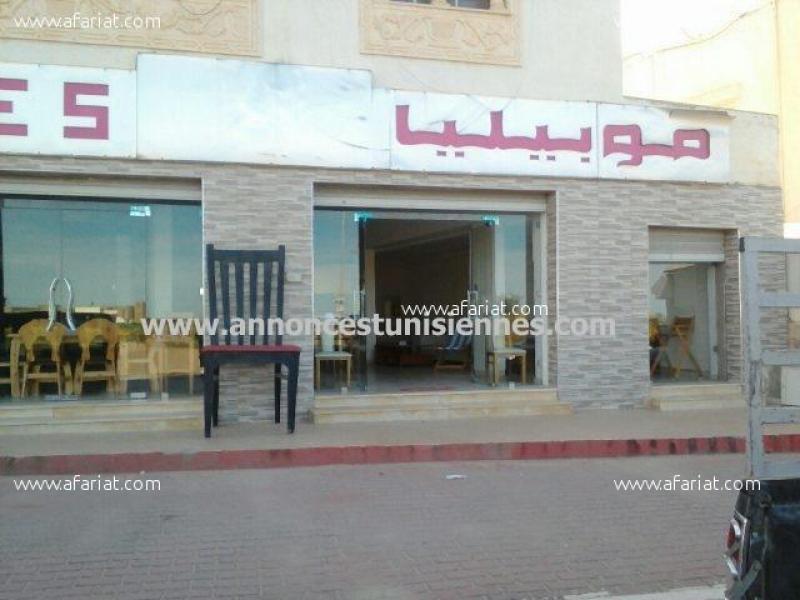 Annonce sur Affariat Tunisie pour: Fond de commerce a vendre à Bizerte, local commercial