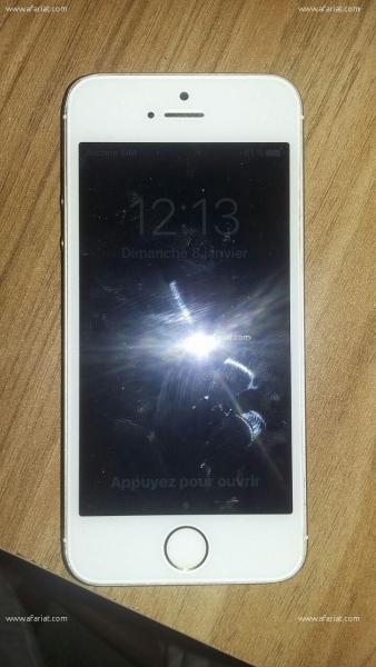 Annonce sur Affariat Tunisie pour: IPhone 5s gold presque neuf
