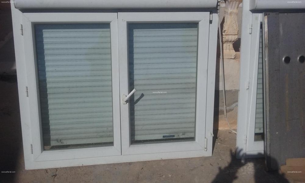 Annonce sur Affariat Tunisie pour: fenetres  pvc double vitrage avec volet